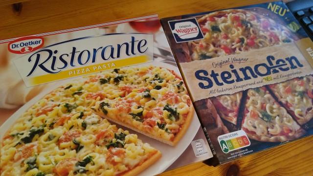 Pasta-Pizza von Dr.Oetker und Wagner