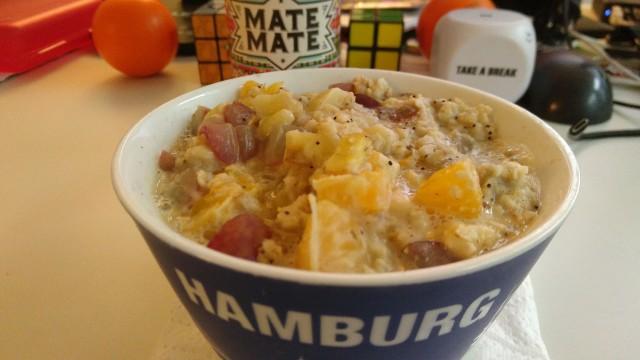 Schüssel mit Porridge