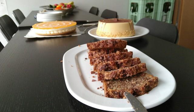 Kuchen und zwei Torten