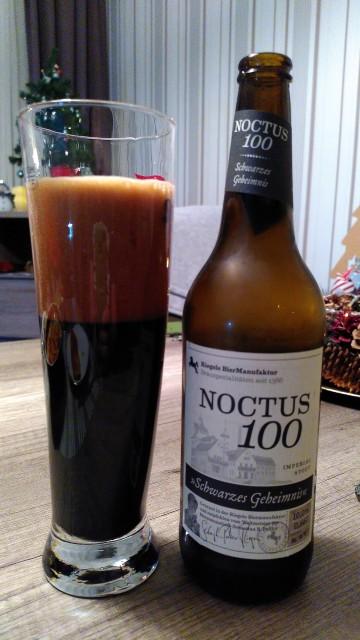 Ein tiefschwarzes Imperial Stout mit 10% Alkohol in einer 0,66l-Flasche