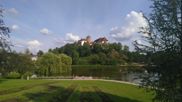 Burg hinter See