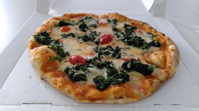 Pizza Spinat Gorgonzola