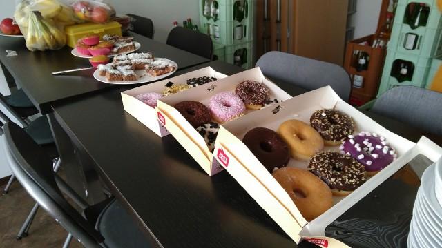 Donuts, Muffins und Kuchen