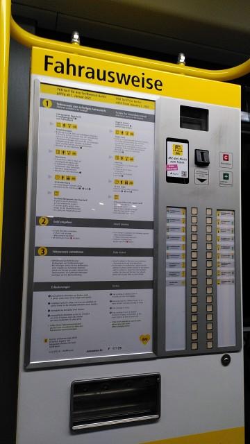 Ticketautomat der BVG