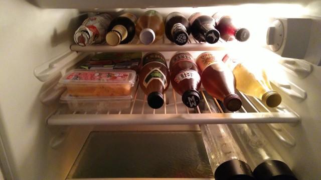 Mate-Flaschen, Bierflaschen, Brotaufstrich